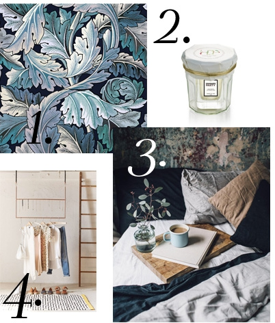 honoré parfum, bazar bio, parfum bio, minimal dressing, dressing capsule, house of hackney, william morris, kinfolk deco